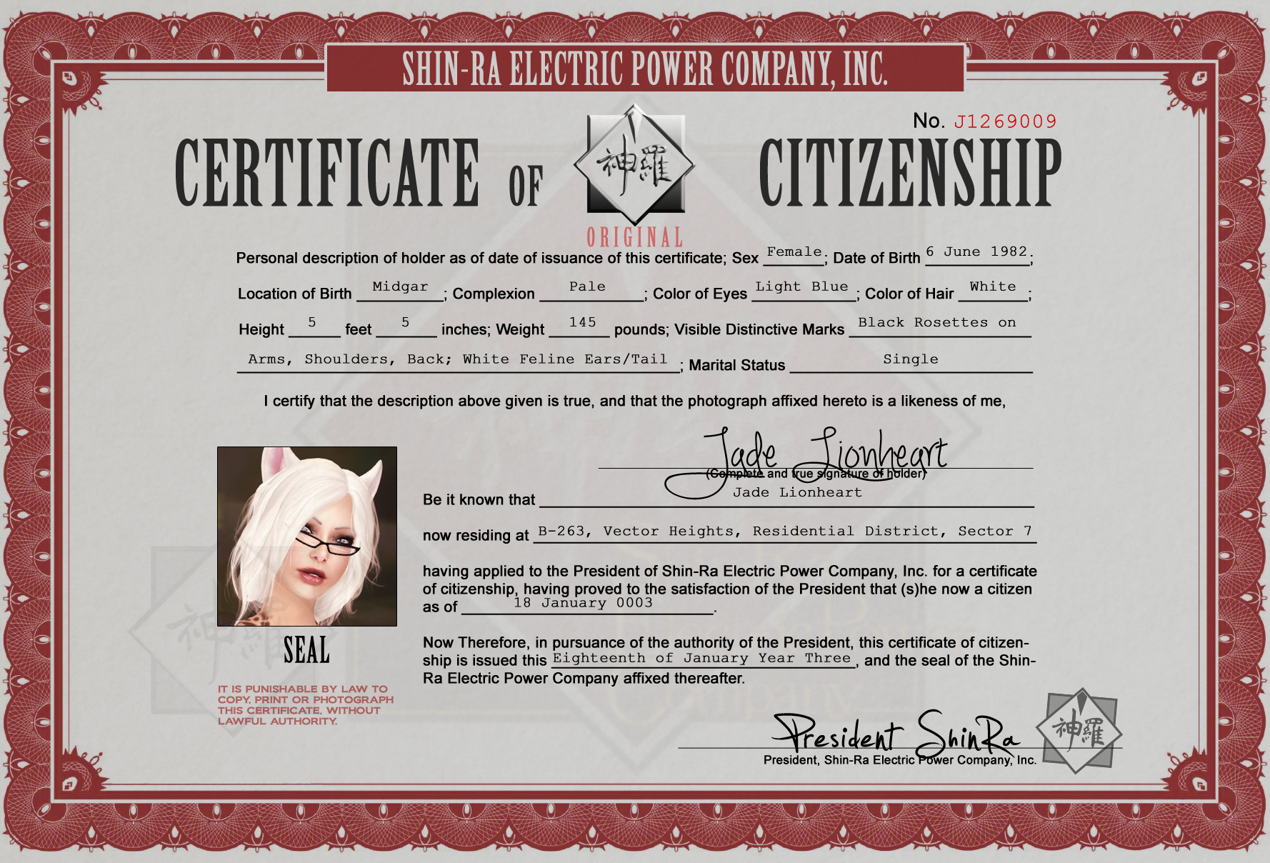 File:Certificate of Citizenship.png - SLFFVII Wiki